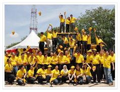 充满激情的临工马来西亚团队