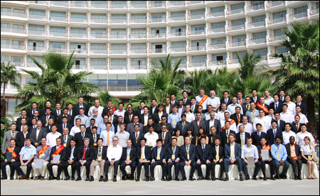 Group Photo for Guests of 2012 SDLG Annual Overseas Dealer Business Conference