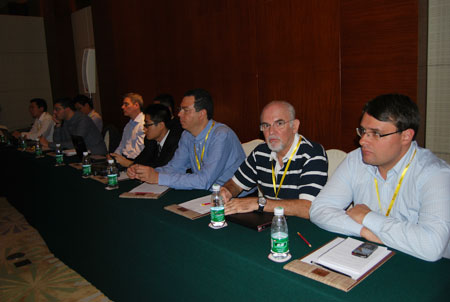 Scene of 2012 SDLG Annual Overseas Dealer Business Conference