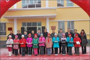Book donation ceremony