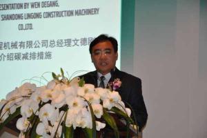 Wen Degang, General Manager of SDLG